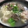 金温州餛飩大王 - 料理写真:牛肉餛飩麺(130NT$≒520円)