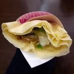 ベリーベリーカフェ - 料理写真:テリヤキチキン ¥454