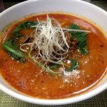 麺や金時 - 坦坦麺850円