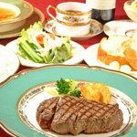小松屋 - 特選牛肉網焼ビフテキコース