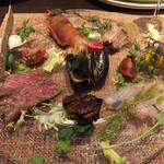 キャトルラパン - 前菜の盛り合わせ
