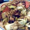 じぞう亭 - 料理写真:野菜炒め、タコも入ってる