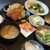 たかぎ - 料理写真:ランチ 鯵フライ&シチュー 850円