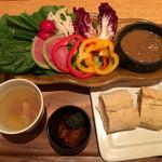 KICHIRI RELAX&DINE - 農園野菜バーニャカウダプレート