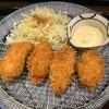 七代目 卯兵衛 - 料理写真:カキフライ定食1000円(お代わり+ドリンクサービス)