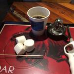 ロアーコーヒーハウス&ロースタリー - 炙りマシュマロ!