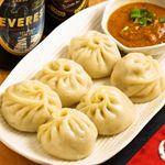 ソルマリ - 【当店一番人気♪】モモはネパールの定番メニューの一つ!