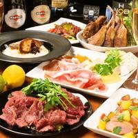 あぐー豚や牛レアかつ、ローストビーフなどなど!肉を楽しむ!