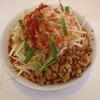 ラーメン つけ麺 天高く翔べ! - 料理写真:台湾二郎 並 野菜増し アブラ増し