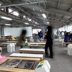唐泊恵比須かき小屋 - 収容人数は300人・焼台は80台だそうです。 1台につき4~6人座れるでしょうか。