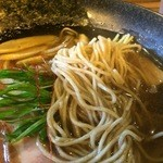 麺屋 一慶 - 2016/01 醤油らーめんUP 750円