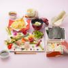 健美和楽 花ん華 - 料理写真:新たにラインナップされた花織り寿司(1日15食限定)の天ぷら膳