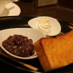 Cafe KOTO - 餡は宝泉さんのものなんです!