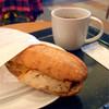 スターバックス・コーヒー - 料理写真:フィローネ テリヤキチキンとドリップコーヒー
