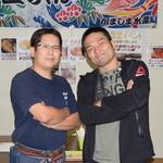 かき小屋 匠ちゃん - 総合格闘家 菊野克紀さんご来店