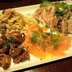 葡萄房 - 料理写真:前菜盛り合わせ