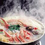 札幌かに家 - 当店独自の味付けをしたおだしで召し上がっていただく   鍋料理。