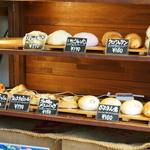 カフェ ガーデン - 2016.1 陳列棚のパン