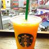 スターバックス・コーヒー - ドリンク写真:マンゴーパッションティーフラペチーノ、ティー抜きカラのバニラシロップ追加
