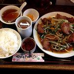 kei楽 - イチ押し山形庄内産の豚レバー定食1080円