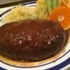 ドンキホーテ - 料理写真:ハンバーグ でかいー ウマイー