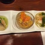 oro - 料理写真:前菜盛り合わせ