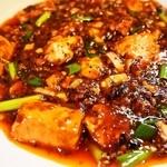 中国料理 六徳 恒河沙 - 麻婆豆腐ランチ(麻婆豆腐)