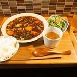 中国料理 六徳 恒河沙 - 麻婆豆腐ランチ