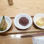 京都石塀小路 豆ちゃ - おかず3種