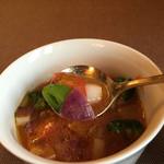 46704389 - 庄内の野菜のミネストローネ