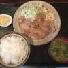 キッチン ことぶき - 料理写真:豚しょうが焼き定食 680円