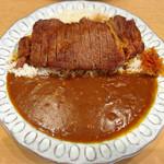 フラヌール - ステーキカレー【120g】大盛り  ¥1,150+100