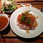カムカム - ランチ∶ かぼちゃと豆のカレー定食