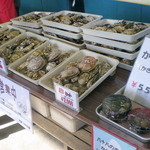 旬味 かきの里 - 商品陳列