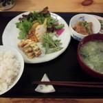 トモキッチン - 2016.1お魚ランチ\900