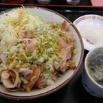 中華 きりん - ネギチャーシュー丼 800円