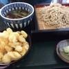 そば処 花鳥野 - 料理写真:鴨そばと百合根の天ぷら