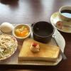 ブレイク - 料理写真:ブレンドコーヒー400円と玉子トーストセット