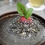 Restaurant PORTUS - ビーツのムース