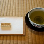 時雨亭 - 煎茶セット310円=16年1月