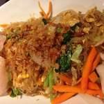 ワルンスミニャック - ラッカオ・ランチ(鶏肉と野菜のピリカラ炒め)
