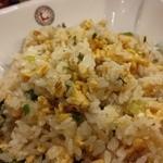 大明担担麺 - 麻婆&炒飯定食 の炒飯 期待してなかったからか、美味しかった☆☆パラふわ・しっかりボリュームも!最近食べた炒飯の中でもランク高↑