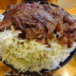 ニクゼン - ステーキ丼(特盛)(2014/11ver)