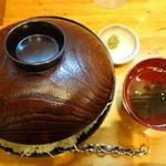 ニクゼン - ステーキ丼(特盛)(\990)(2014/11ver)