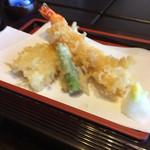 のれんと味 だるま料理店 - 天ぷら