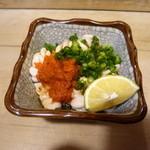 入船寿司 - 鱈白子ポン酢