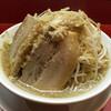 麺屋あっ晴れ  - 料理写真:らーめん 790円 (無料トッピング : アブラ・野菜でら盛り)