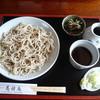 蕎酔庵 - 料理写真:小盛二枚盛 一枚目(十一)