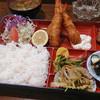 加茂 - 料理写真:えびフライ定食\700