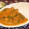 ムガル定番カレーライス(ミニサラダ付)Curry Rice